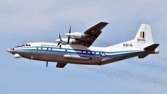 122 omkom da et slikt Y-8 fra flyvåpenet i Myanmar styrtet i sjøen 7. juni.