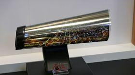 Vi har allerede sett prototyper på rulleskjermer, her fra LG.