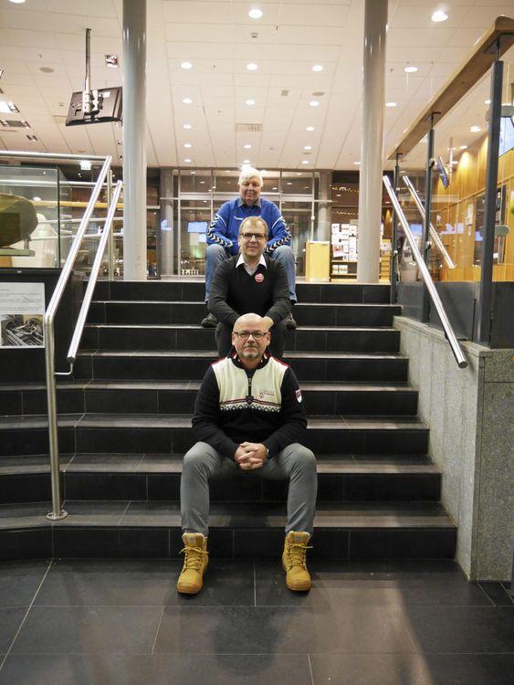 VÅRE BESTE: De er nominerte til Frilvillighetsprisen i år. Du ser Kyrre Riis, Kolbotn Basket, Helge Marstrander, Stopp Støyen og Stål Rune Jensen, Tilrettelagt Idretten OI.