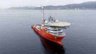 Forskningskipet Seabed Constructor.