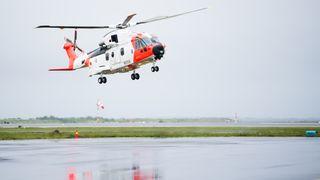 Dette er fortsatt det eneste flygbare AW101-helikopteret i Norge