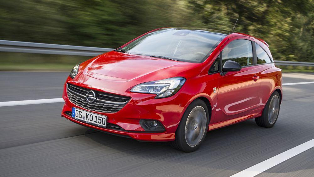 Dagens utgave av Opel Corsa. Fra 2019 kommer den i ny utgave, også som elbil.