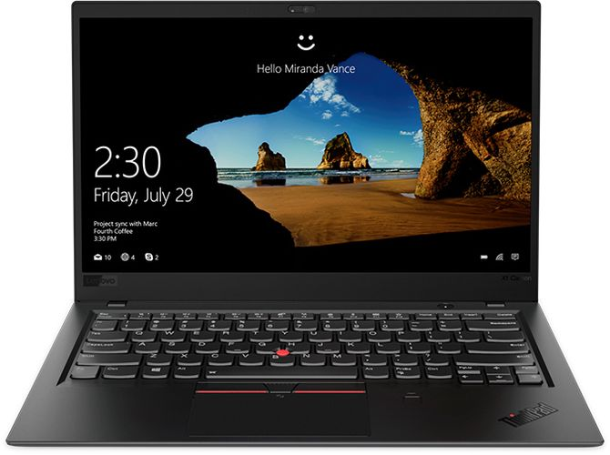 Lenovo Thinkpad X1 Carbon.