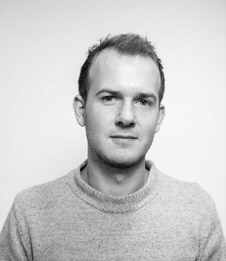 Journalist Vegard Unger Ellefsen i NRK Vestfold.