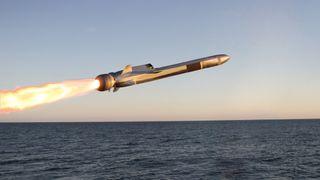 Konkurrentene skal ha trukket seg: Nå ligger alt an til at Kongsbergmissil blir brukt på 60 nye amerikanske fregatter