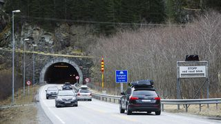 65 tunneler på Vestlandet må stenges på natta