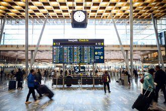 Marmor fra Fauske er brukt som gulv på Oslo lufthavn Gardermoen.