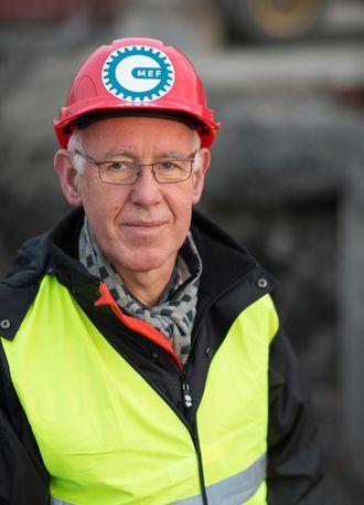 Administrerende direktør i Mef, Trond Johannesen.