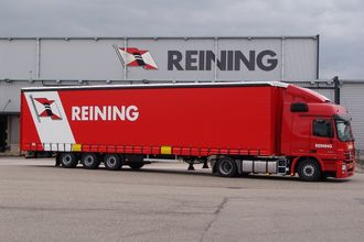 Reining Transport har ca. 300 vogntog.