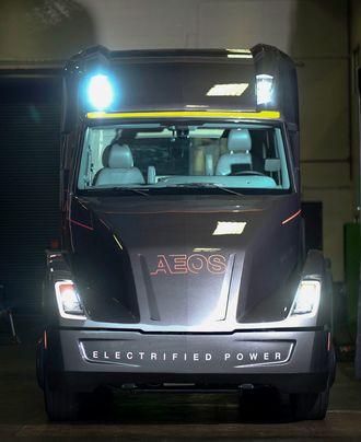 Konseptbilen Cummins Aeos skal gi Cummins nyttig informasjon om potensialet til elektrisk drevne lastebiler i daglig bruk.