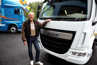 Vidar Melleby er landsansvarlig i Norge for Nordic Trucksenter, som selger DAF i Norge.