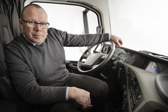 Anders Edenholm, Chief Project Manager i Volvo Trucks.