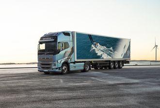 Volvo FH og Volvo FH16 er nå tilgjengelige i en eksklusiv ny versjon inspirert av Volvo Ocean Race, som starter til høsten.