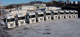 Bamas ti nye Scania-er.