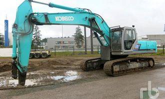 Kobelco SK330LC-6 selges i Tampere 25. september.