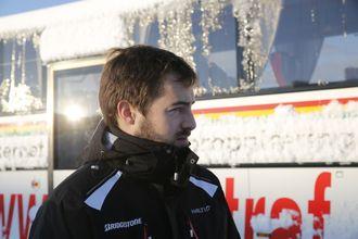 George Barrow i Commercial Motor fikk prøve seg på glattisen i Kristiansand.