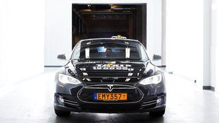 Svensk studie: Tesla dro inn mest penger som taxi - tross høyere pris