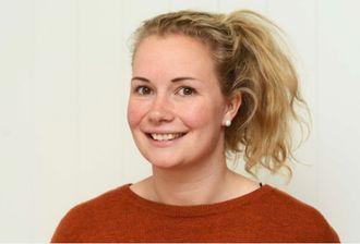 Byggeleder Mari Sagbakken er fornøyd med interessen for prosjektet.