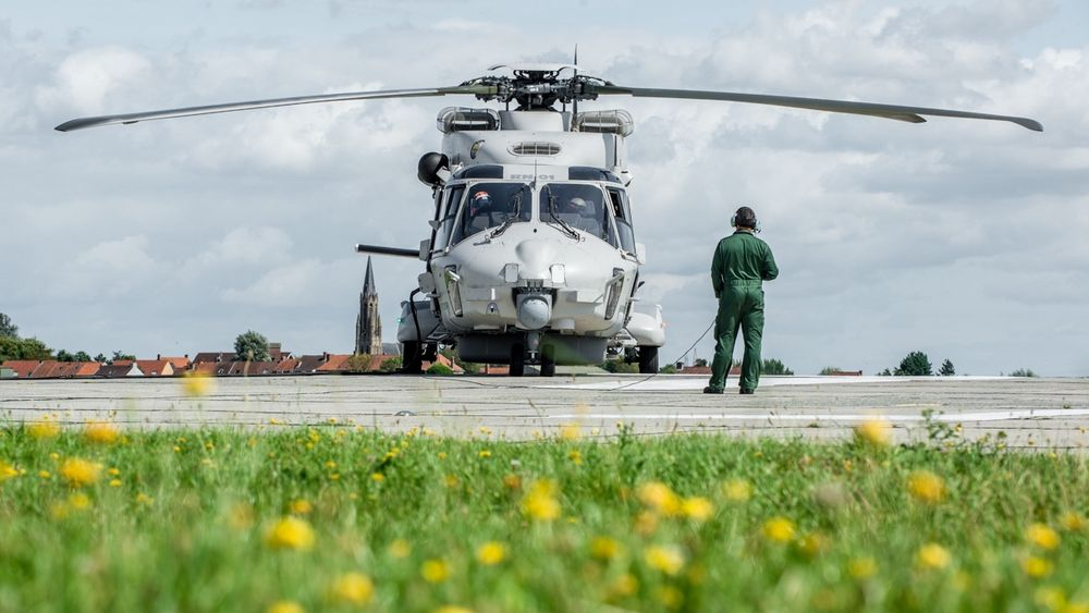 Alle Belgias fire NH90 søk- og redningshelikoptre er for tida ute av tjeneste.