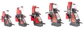 De fem element-maskinene, fra 30 til 100.