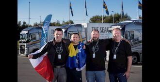 Deltakerne i siste finalerunde var Tomáš Horčička (f.v.) fra Tsjekkia, Emir Salihović fra Bosnia-Herzegovina, Stanislav Martynov fra Russland og Kjetil Dale fra Norge.