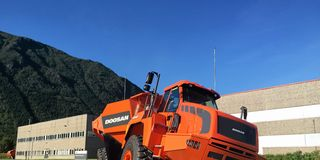 Oppsving for Doosan-dumpere