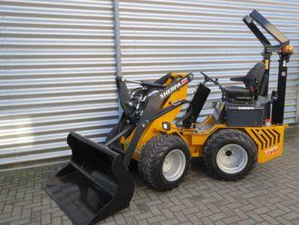 Sherpa 300 er den største minilasteren til den nederlandske produsenten, Hanenberg Materieel BV.
