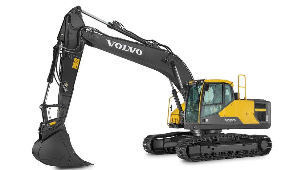 Volvo EC220E er best i en test utført i regi av Volvo Contruction Equipment.