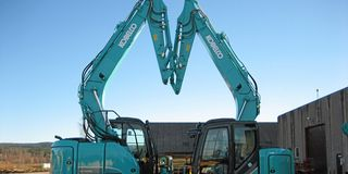 Kobelco klar for skauen