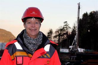 Prosjekteringsleder Nina Haugland i Statens vegvesen.