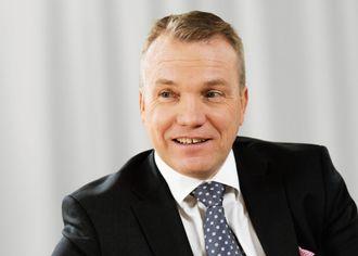 Konsernsjef Peter Wågström leder NCC gjennom en periode med omorganisering.