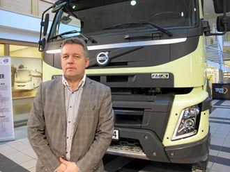 Adm. direktør Erik Engelien i Volvo Trucks Norge