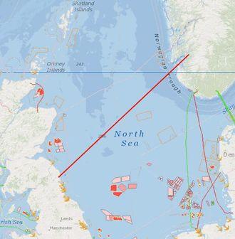 Kabelen blir verdens lengste sjøkabel, og har en kapasitet på 1400 megawatt - tilsvarende rundt 750.000 husstander.
