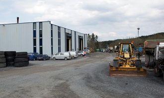 Verkstedet er en viktig del av steinproduksjonen hos Feiring Bruk i Lørenskog. Mekanikerne sørger for at det ikke blir uforutsette stopp i produksjonen.