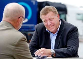 NLF-direktør Geir A. Mo mener forslaget om å forby lastebiler som ikke har Euro 6-teknologi på spesielt forurensede dager, er både meningsløst og lite gjennomtenkt.