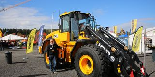 Dramatisk transport for JCB-nyhet