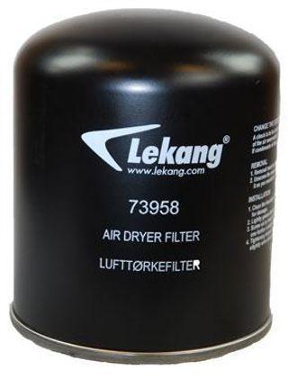 Lekangs nye lufttørkefilter.