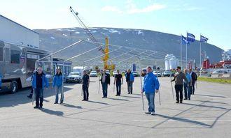 Rigging i Tromsø.