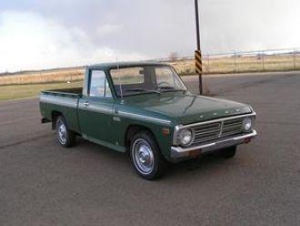 Da Courier navnet på nytt ble tatt i bruk, var bilen blitt konvertert til pickup.