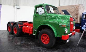 MAN 15.215 DHS fra 1968. Motoren yter 215 hk.