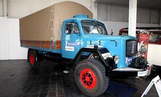 Magirus-Deutz Mercur 120 AL kjøpt i 1963. Egenvekt 6015 kg. Tillatt totalvekt 7419 kg. Topphastighet 75 km/t.