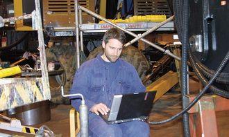 Ingeniør Robert Snekkevik, Brødrene Johnsen AS, har hatt en sentrale rolle i utviklingen av FlexiZoom.