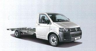 Transporter chassis kan leveres i 3,5-tonns utførelse ombygd av AL-KO. Akselavstanden er 4100 mm. Dette gir stor valgmulighet av påbygg.