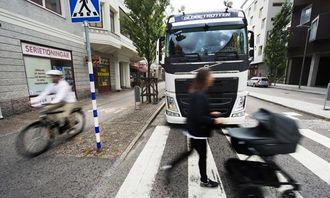 Volvo Trucks egen forskning viser at begrenset sikt er en av de fremste årsakene til ulykker mellom tunge kjøretøy og ubeskyttede trafikanter i Europa.