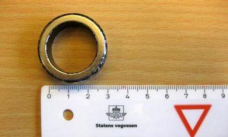 Denne magneten ble plukket av den tyrkiske trekkbilen.