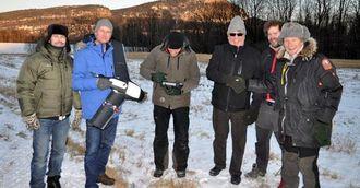 Norgeodesi AS har for tiden mange demonstrasjoner på oppmåling med drone. Her en demonstrasjon for Asker Oppmåling ved Norgeodesi sitt kontor.