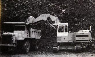Her er den nye H55N som erstatter H40 og som skal dekke opp området mellom 40 og 65 tonn.