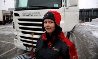 Sjåførfaglært Anne Marie Fjellseth