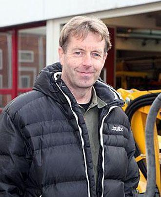 Dag-Helge Andresen i Brokk Norge har stor tro på det nye produktet.