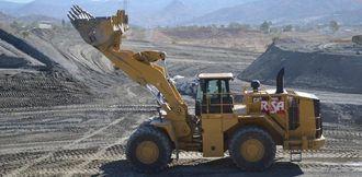 Cat 988K hjullaster på 580hk og vekt i tunnelversjon ca 64 tonn